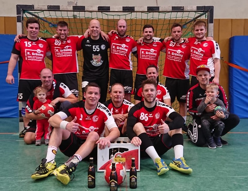 Maenner IV - Siegerfoto gegen HSW