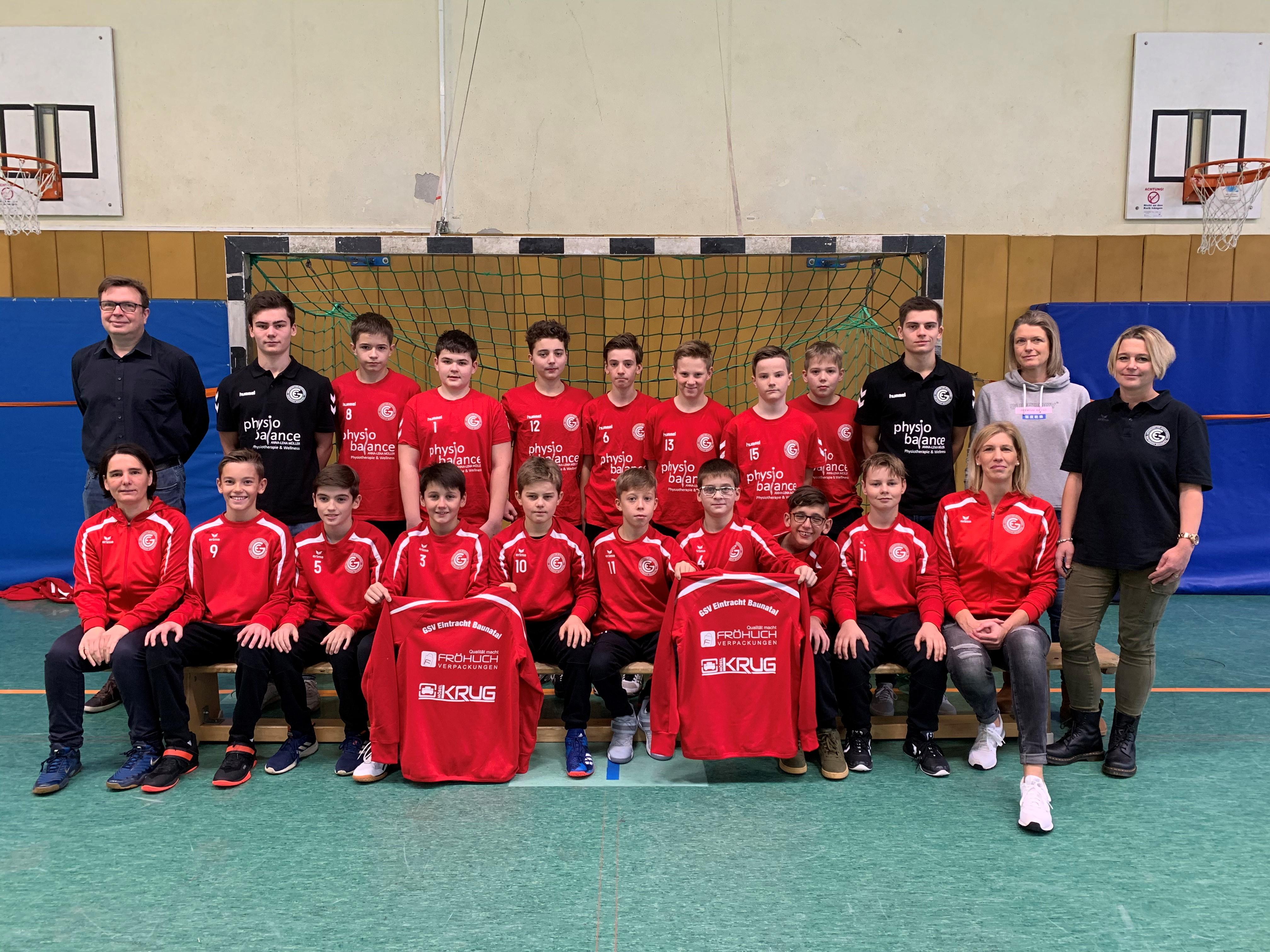 MJC2 - Mannschaft mit Sponsoren 2019